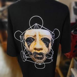 NWOT BLVCK SCVLE Goth Clown Tee